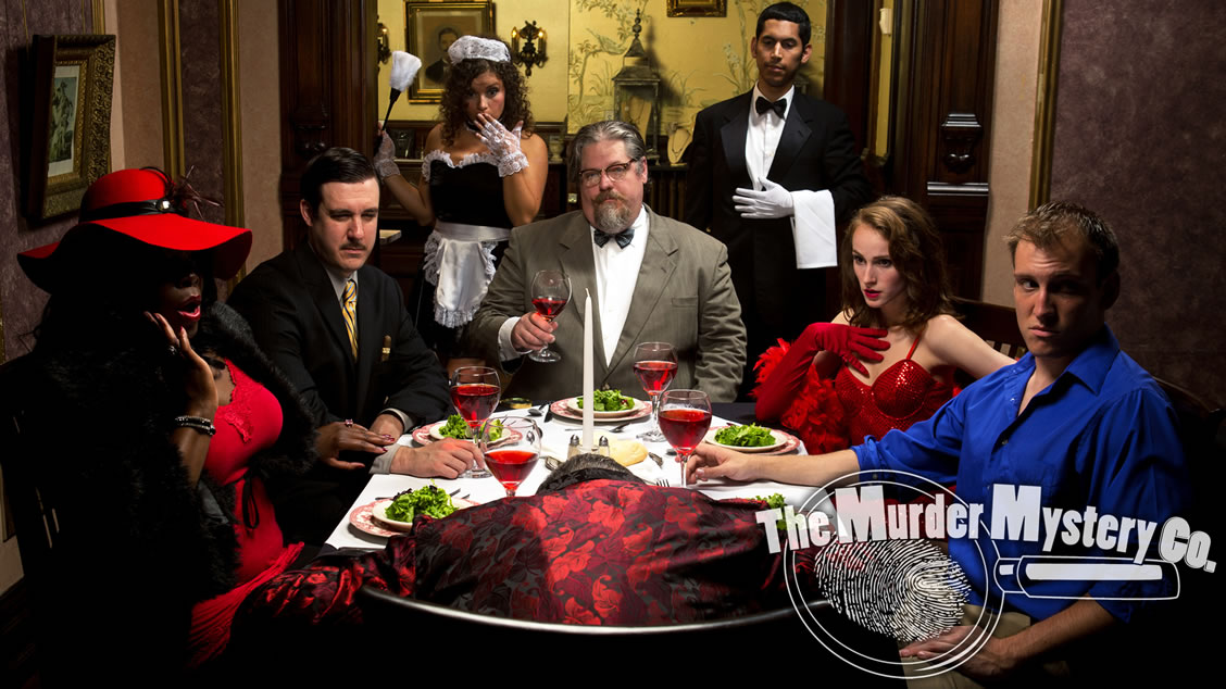 Detroit murder mystery party themes